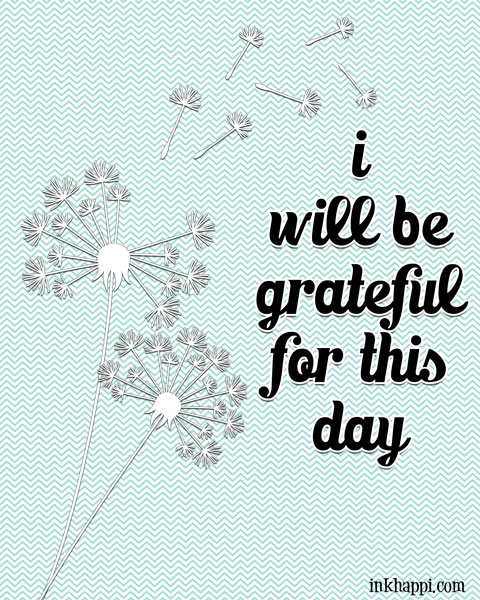 "Lots of GRATITUDE quotes and prints. A great reminder to ""Be Grateful"""