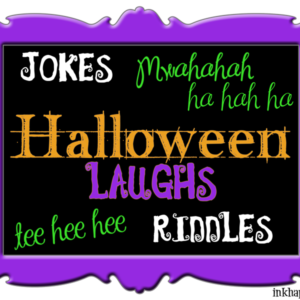 Some fun Halloween jokes and riddles as well as a printable from inkhappi.com. Enjoy!