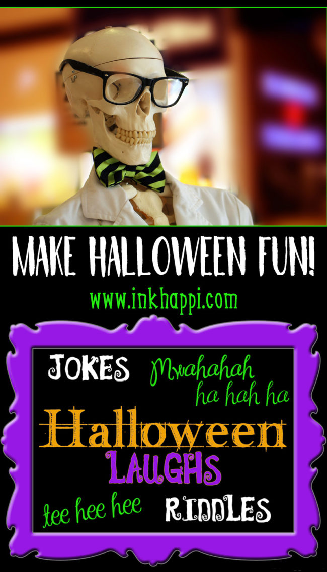 Halloween Jokes, Puns and Riddles! Ahhahah! - inkhappi