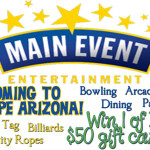Giveaway for Main Event Entertainment