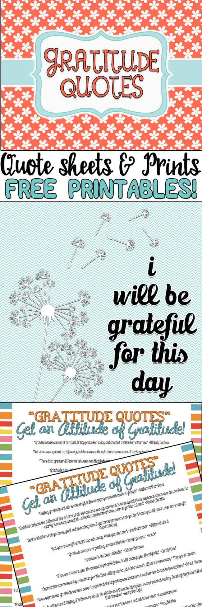 42 fabulous gratitude quotes and many free printables as well at inkhappi.com #gratitudequotes