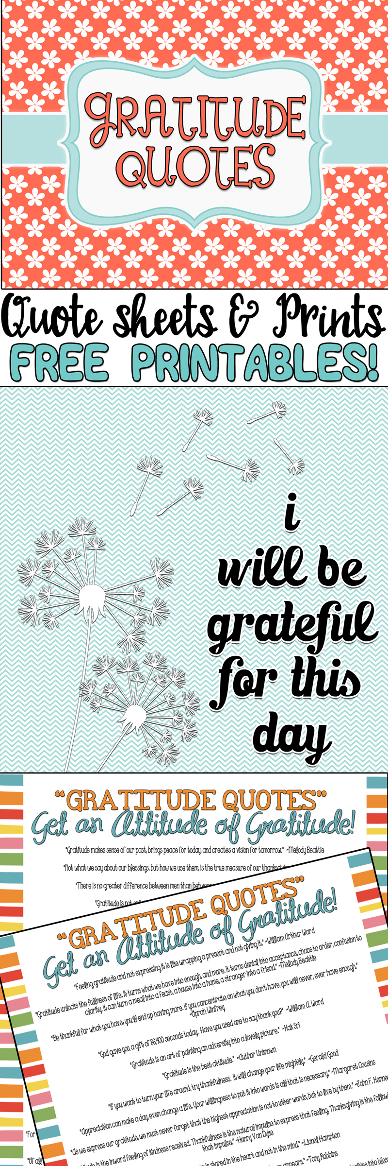 Gratitude Quotes …for Gratitude is a Tremendous Virtue!