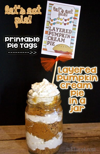 Printable pie tags and some awesome pie recipes