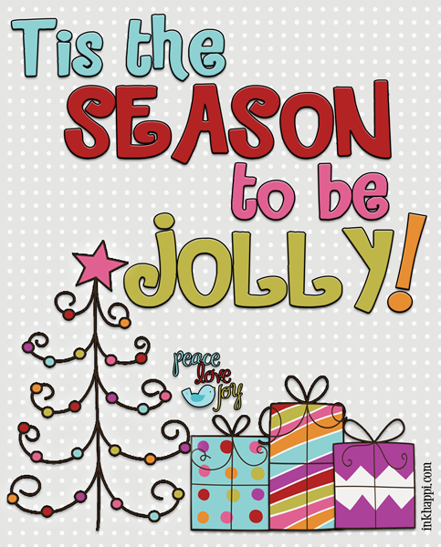 Yay! It's the December 2013 Calendar and printable that goes with it from inkhappi!
