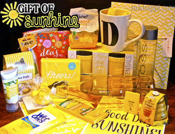 Give a gift of sunshine free printables and ideas :)