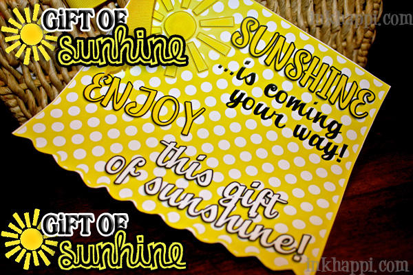 photograph regarding Box of Sunshine Printable identified as Present of Sun! All Variables Yellow Furthermore No cost Printables