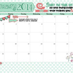 January 2014 Calendar is Here!