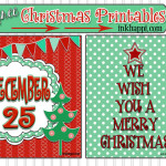Christmas Printables to Decorate With!