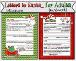 Letter to Santa 2013… for Adults! {wink-wink}