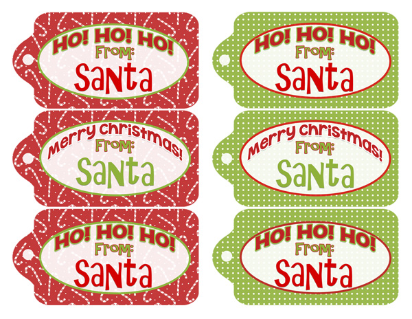 Free printables! Add some glitter to these tags and you've got ...