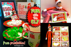 Elf on the Shelf and {More} Holiday Printables!