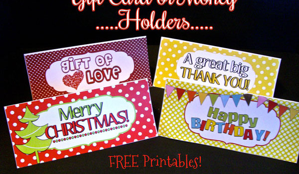 Last Minute Gift Ideas  {with free printable}!