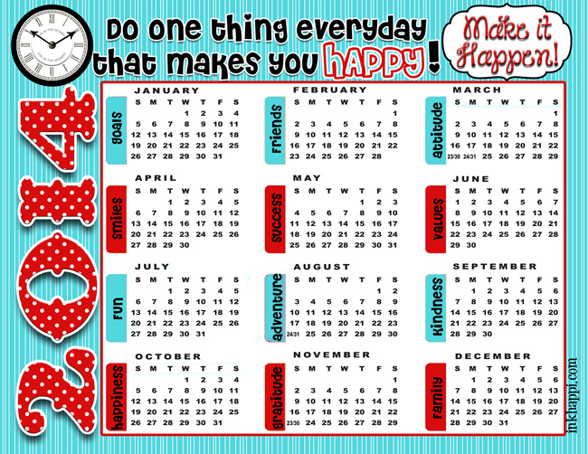 Get this free 2014 annual calendar along with some inspirational new yearsquotes and ideas at inkhappi.com