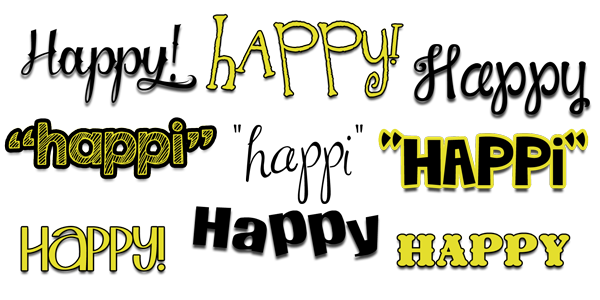 "choose to BE HAPPI! lots of ""happy"" things at inkhappi.com :)"