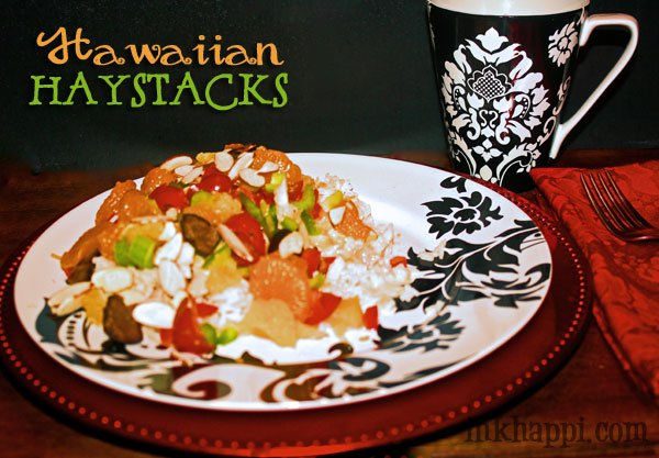 These are so easy to make and YUMMY! Hawaiian Haystacks recipe and topping ideas.