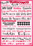 Valentine Fonts {oh how I love these!}