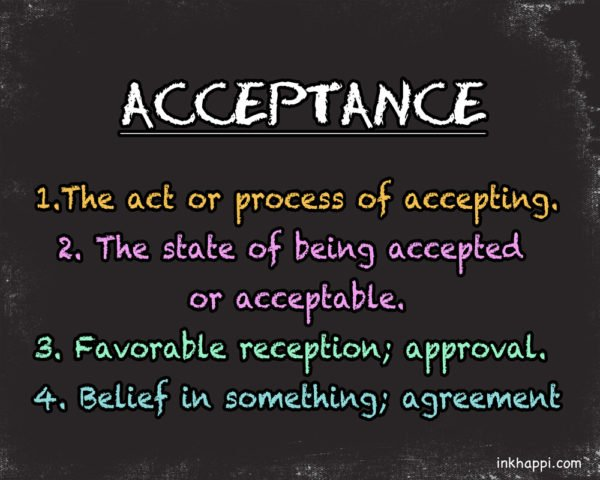 "How to be more ""Accepting"" Quotes and free printables on Acceptance!"