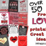 Love Print Roundup… {Over 50} Great Gift Ideas!