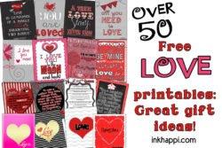 Love prints header