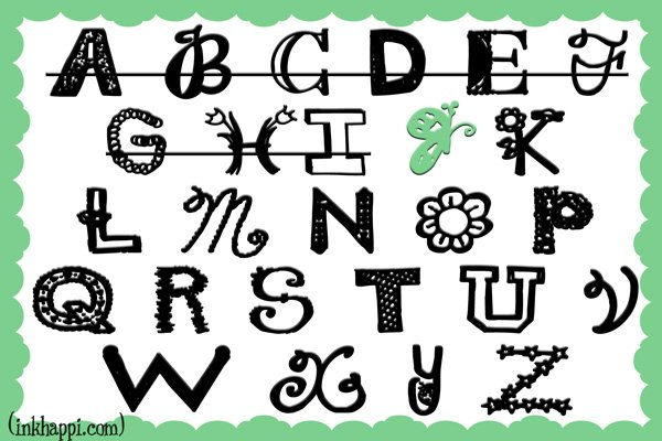 Working through the alphabet of sharing some of my favorite free fonts. We are at J!