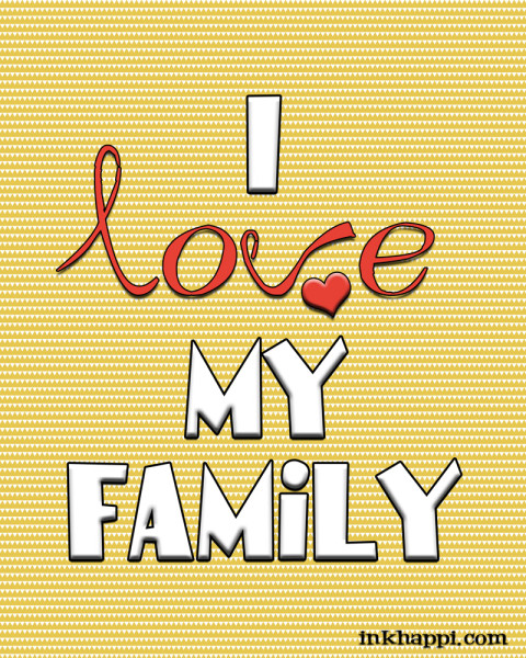 Several free printables about family and love. Great framed gift for Valentines day!