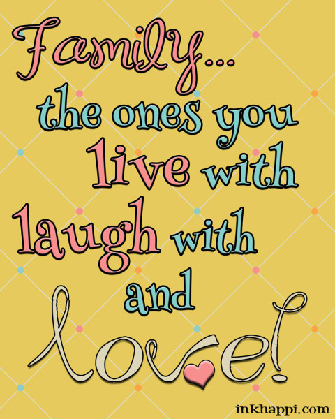 Several free printables about family and love. Great framed gift for Valentines day!!