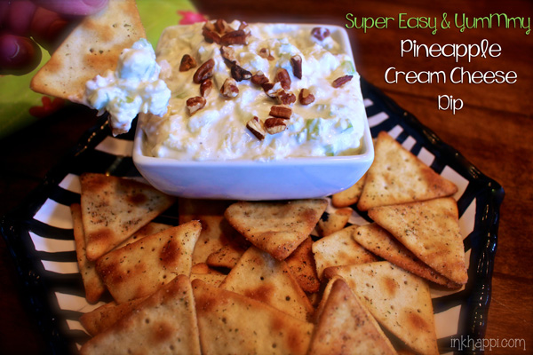 ... die for! Quick, easy and absolutely YumMmy Pineapple cream cheese dip
