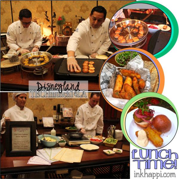 Disneyland amazing lunch! #TECHmunch14LA