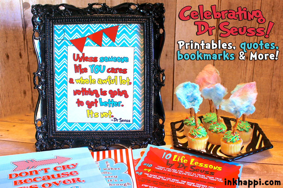 image regarding Dr Seuss Printable Bookmarks referred to as Dr Seuss! A occasion of a impressive gentleman! - inkhappi
