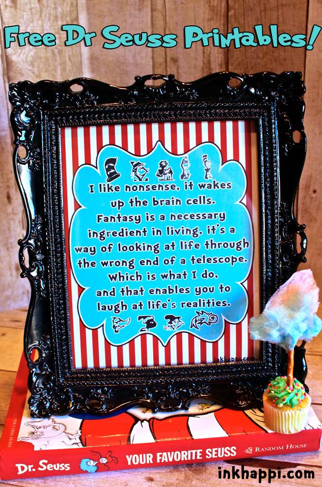 Dr Seuss A Celebration Of A Wonderful Man Inkhappi
