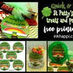 St Patricks Day printables and treats to share with others!