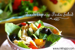 Caprese Pasta Salad… Fresh, Easy, Quick, and Yummy!