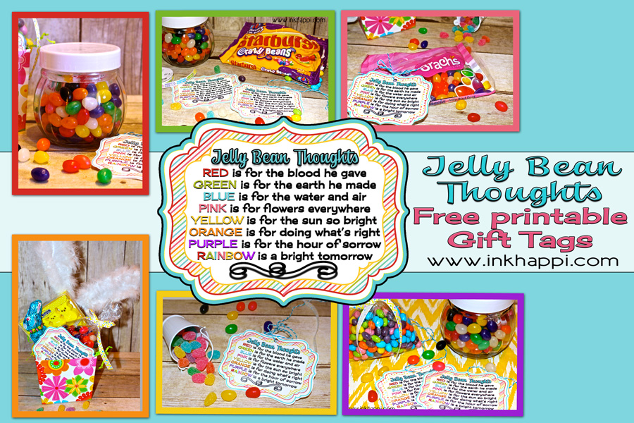 elly Bean facts and some cute printables with what the colors of jelly beans stand for in relation to Easter. Put them in your kids Easter baskets! Theses are great to use as a teaching tool for kids or to gift to others!