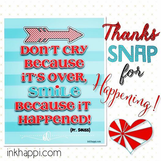 Snap conference happened... now its over...