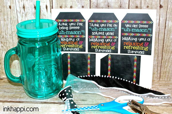 Teacher gift idea and free printable gift tags inkhappi free printable gift tags that go with mason jars for a teacher gift negle Gallery