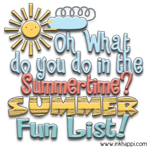 Oh what do you do in the Summertime? Fun summer activities and ideas and planning calendars!
