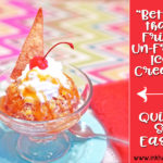 Fried Ice Cream …But it's better, and it's un-fried!
