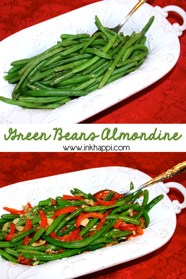 Take your green beans from boring to out of this world!! Green Beans Almondine. Flavorful and delicious vegetable dish. quick, easy, and yummy!