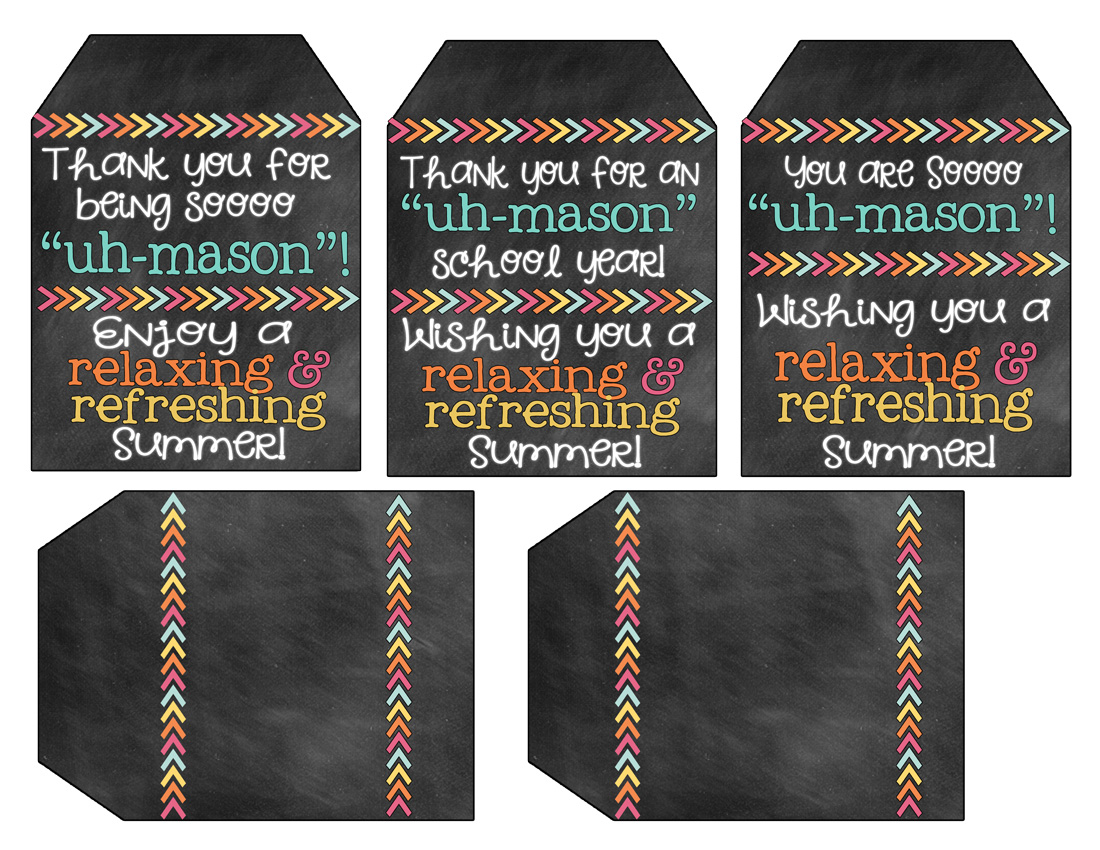Teacher Gift Idea and Free Printable Gift Tags - inkhappi