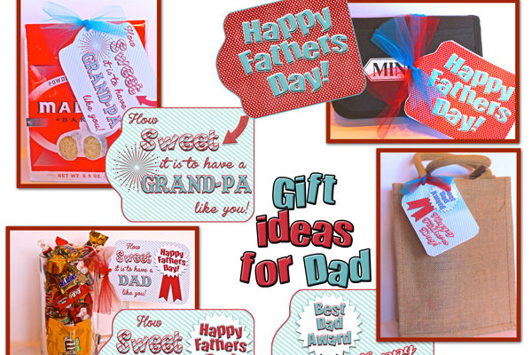 "Fathers Day Gift Tags for a ""Sweet"" Gift!"