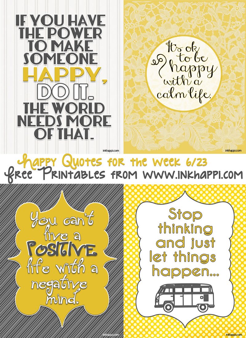 Life Quotes To Bring Happiness - Inkhappi