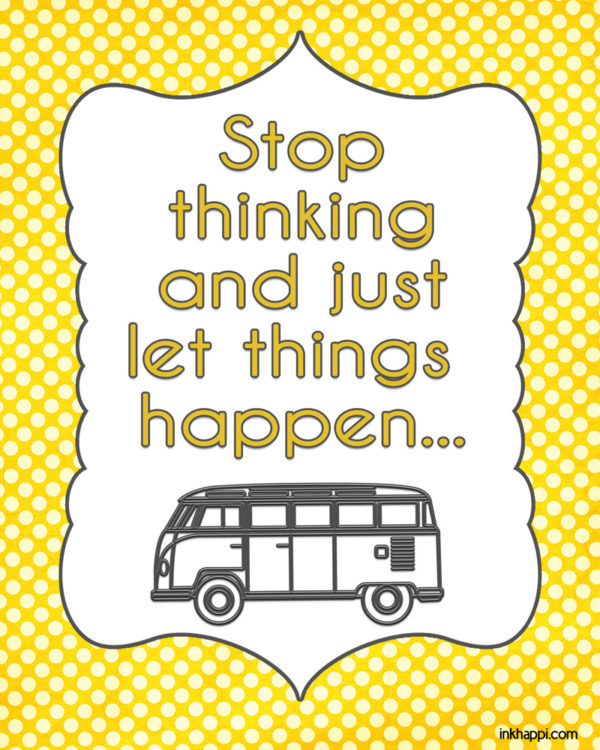 let-things-happen free printable