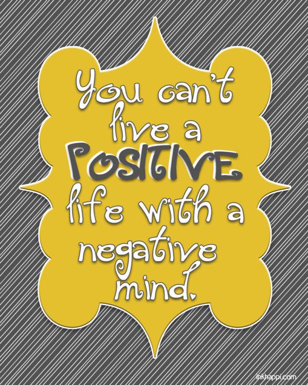 positive-life free printable