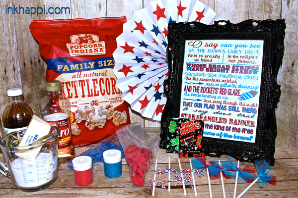 "Follow this link to see what kind of ""surprise popcorn balls"" these ingredients will make!"