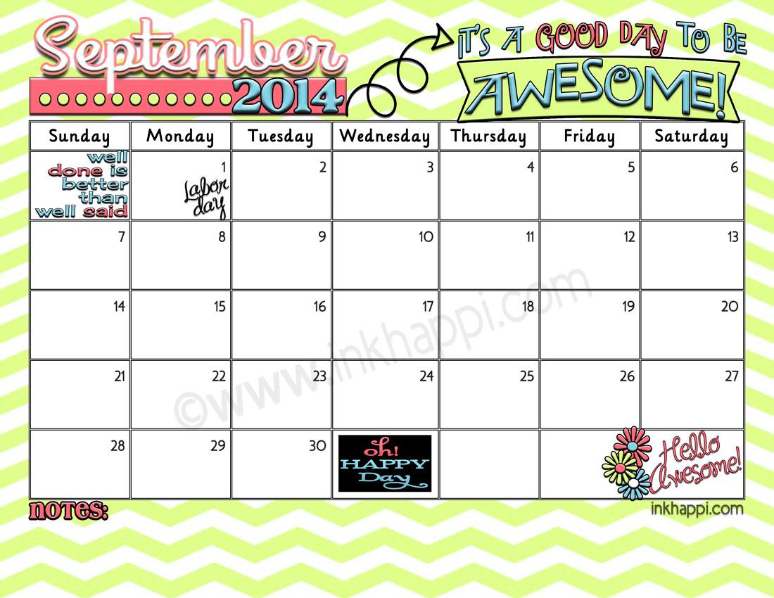 Calendar September : September calendar quotes quotesgram