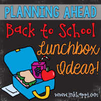 Some awesome lunchbox ideas and planning tips to make back to school run more smoothly.