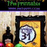 Halloween …Let the countdown begin with this free print!