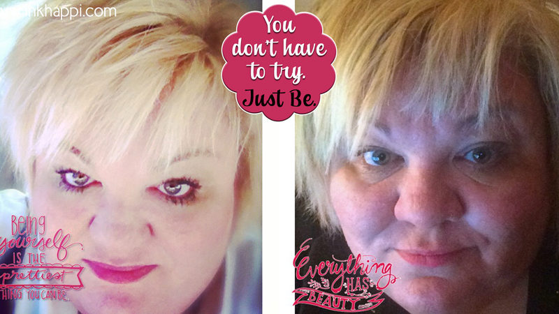 Being yourself is the prettiest thing you can be. #iambraveandbeautiful You don't have to tr. Just BE.