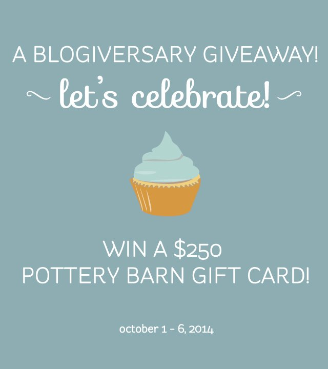 Giveaway Time! Happy October!