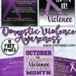 Domestic Violence Awareness Information & Prints